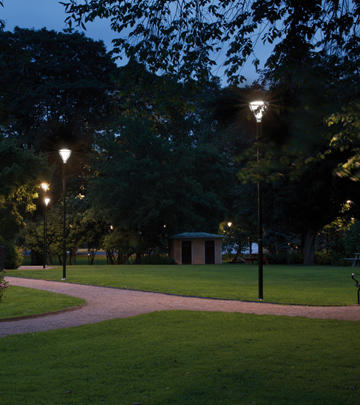 New Metronomis LED lighting for park