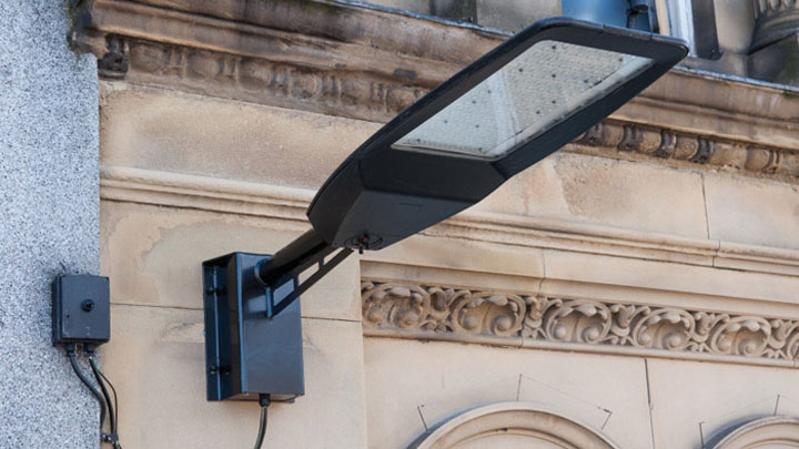 Philips LED city lighting product SpeedStar is implemented at Wigan Town Centre to keep the area safe at night