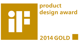 Product design award gold 2014