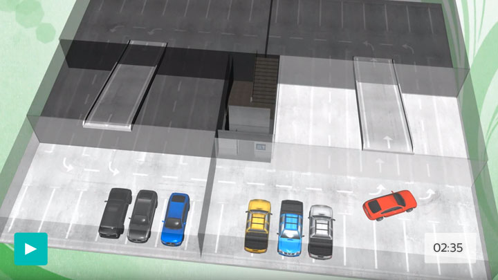 parking lights - greenparking video