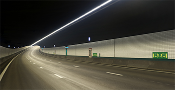 tunnel lighting, underpass lighting, tunnel signaling,