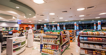 food lighting, super store lighting, retail lighting, mear lighting, vegetable lighting