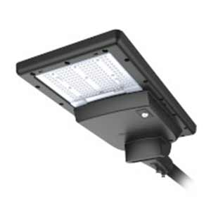 All-in-one solar street luminaire